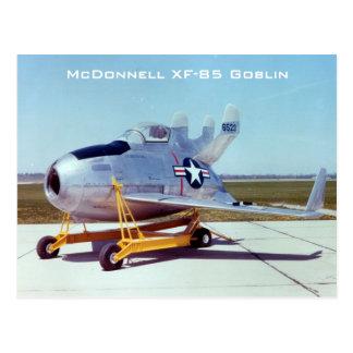 Cartão do diabrete de McDonnell XF-85