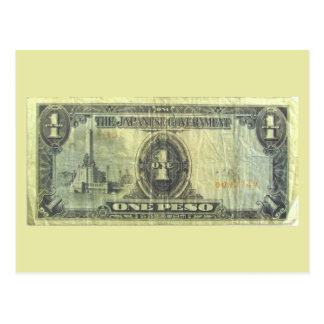 Cartão do do dinheiro 1 da invasão cartões postais