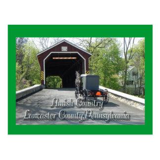 Cartão do _do país de Amish