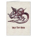 Cartão do dragão