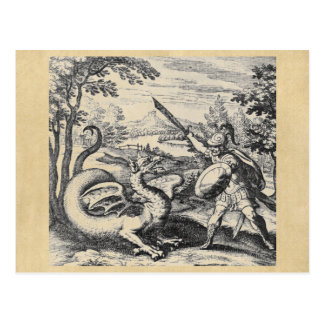 Cartão do dragão da alquimia
