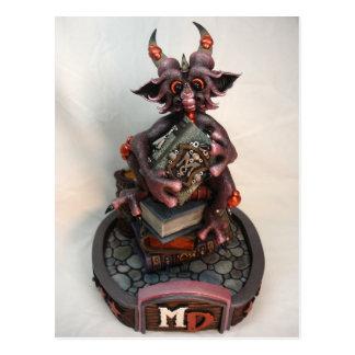 Cartão do dragão da cereja preta da DM