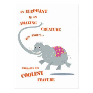 Cartão do elefante