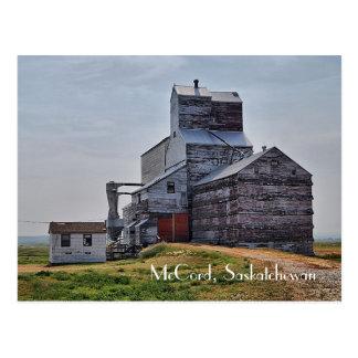Cartão do elevador de grão de McCord