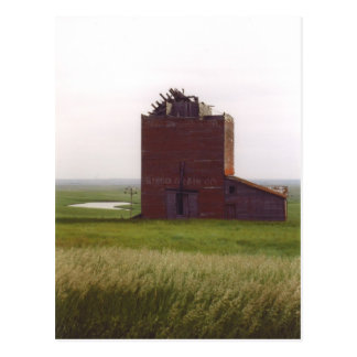 Cartão do elevador de grão de South Dakota