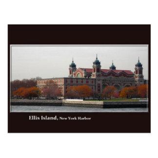 Cartão do Ellis Island