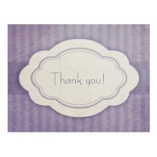 Cartão do encanto do lilac do vintage