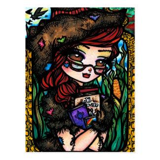Cartão do espantalho cartão postal