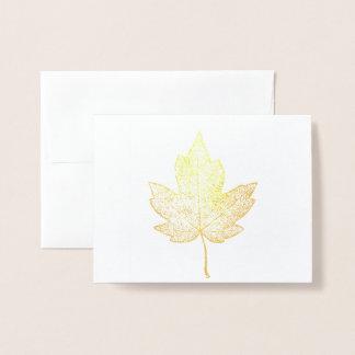 Cartão do esqueleto da folha de bordo do ouro