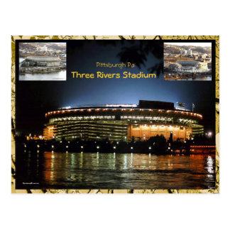 Cartão do estádio de 3 rios