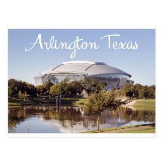Cartão do estádio dos Dallas Cowboys de Arlington,