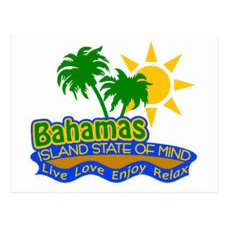 Cartão do estado de ânimo de Bahamas