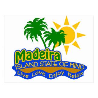 Cartão do estado de ânimo de Madeira