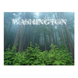 Cartão do estado de Washington