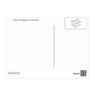 Cartão do Evergreen, Colorado
