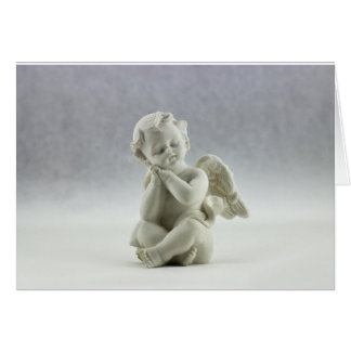 Cartão do falecimento do anjo