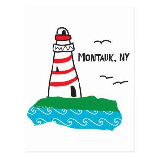 Cartão do farol de Montauk