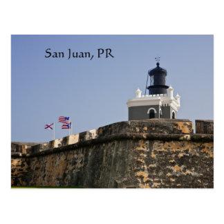 Cartão do farol de San Juan