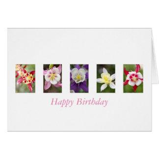Cartão do feliz aniversario