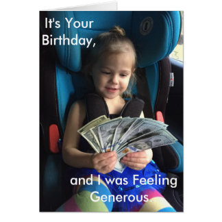 Cartão do feliz aniversario, cómico