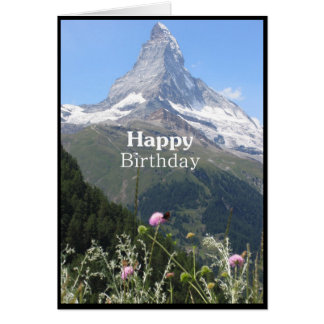 Cartão do feliz aniversario da fotografia da