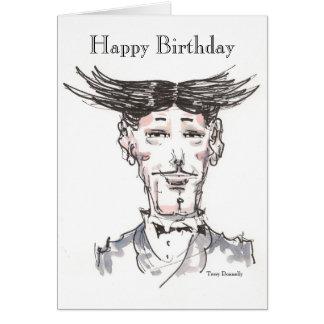 Cartão do feliz aniversario do tio Vencedor