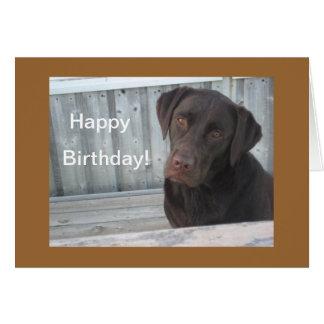 Cartão do feliz aniversario - laboratório do