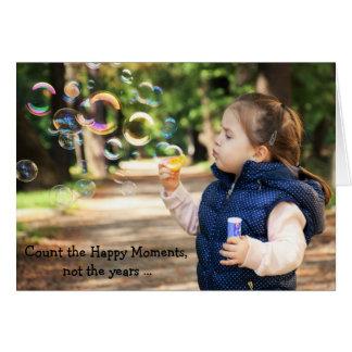 Cartão do feliz aniversario: Momentos felizes