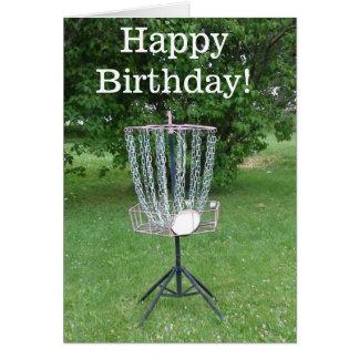Cartão do feliz aniversario para um jogador de