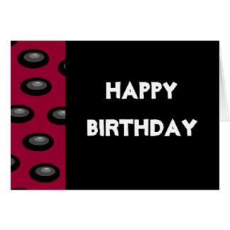 Cartão do feliz aniversario (vazio para dentro)
