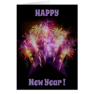 Cartão do feliz ano novo