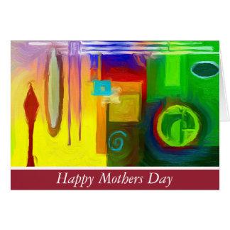 Cartão do feliz dia das mães