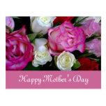 Cartão do feliz dia das mães cartões postais