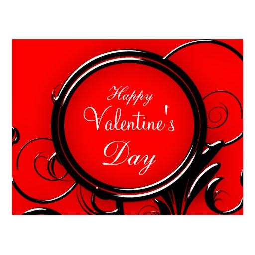 Cartão do feliz dia dos namorados cartao postal