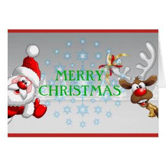 Cartão do Feliz Natal