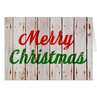 Cartão do Feliz Natal | do contexto de Beachwood