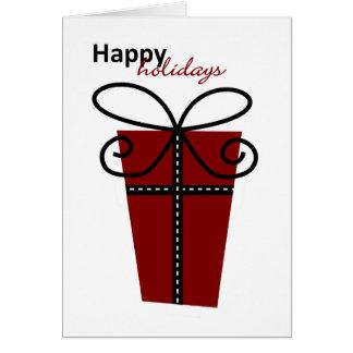 Cartão do feriado