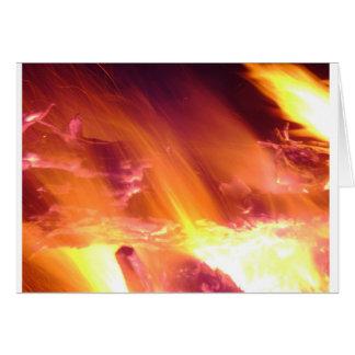 Cartão do feriado da fogueira