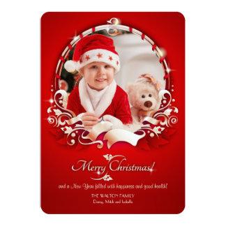 Cartão do feriado da foto da alegria do Natal