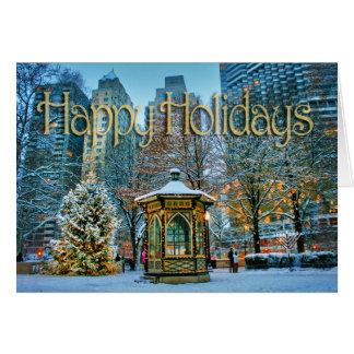 Cartão do feriado da luz do amor da esperança