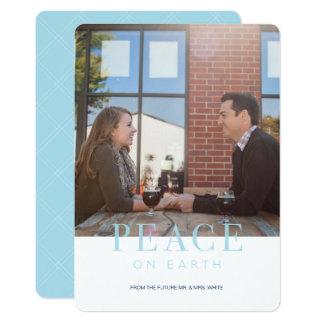Cartão Cartão do feriado da PAZ