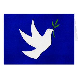 """Cartão do feriado da """"paz"""" por estúdios de Ascalon"""