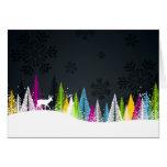 Cartão do feriado de inverno