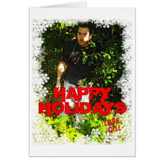 Cartão do feriado de STW