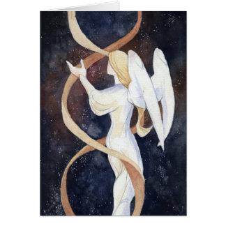 Cartão do feriado do anjo do gene