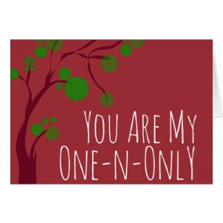 Cartão do feriado do cabeleireiro de One-N-Only