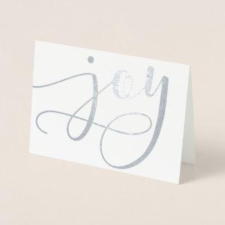 Cartão do feriado do roteiro da alegria (folha