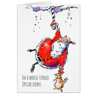 Cartão do feriado dos desenhos animados sobre o