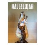 Cartão do feriado muito religioso