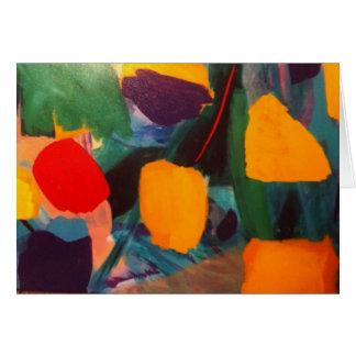 Cartão do festival da tulipa